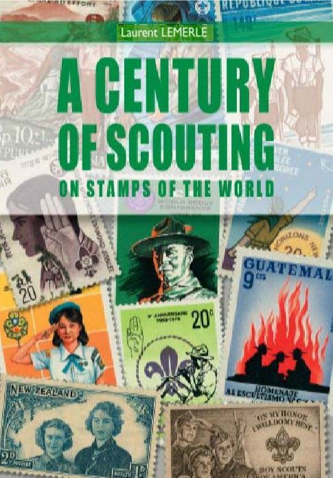 Scout stamps book
